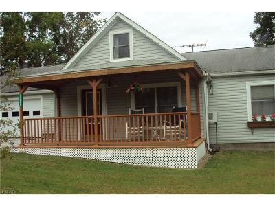 Geauga County Single Family Home For Sale: 11400 Summit