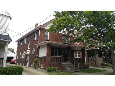Lakewood Multi Family Home For Sale: 2096 Halstead Ave