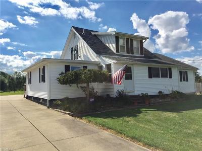 Warren Single Family Home For Sale: 3360 Newton-Tomlinson Rd Southwest