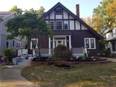 Cleveland Heights Single Family Home For Sale: 3041 Euclid Heights Blvd