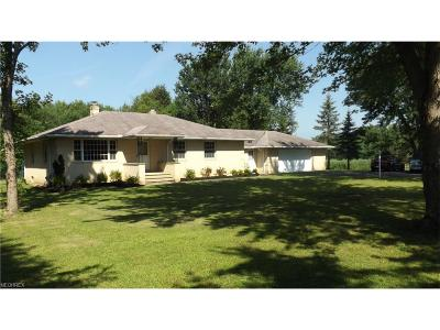 Geauga County Single Family Home For Sale: 12910 Ravenna Rd