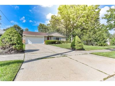 Mayfield Heights Single Family Home For Sale: 6533 Longridge Rd