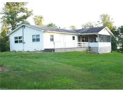 Guernsey County Single Family Home For Sale: 53668 Iowa Rd