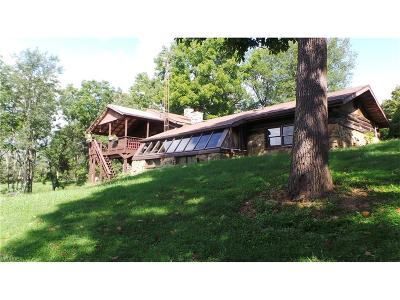 Guernsey County Single Family Home For Sale: 60916 Stewart Rd
