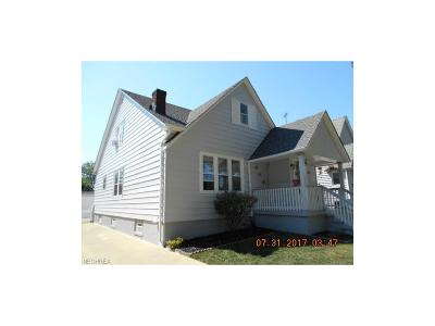 Cleveland Single Family Home For Sale: 3846 West 133rd St