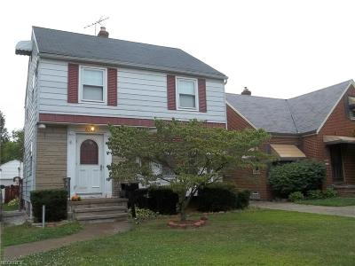 Cleveland Single Family Home For Sale: 16920 Laverne