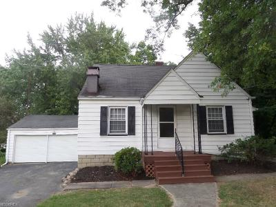 Warren Single Family Home For Sale: 8597 High St Northeast