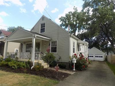 Youngstown Single Family Home For Sale: 129 Maple Dr