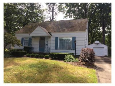 Warren Single Family Home For Sale: 1820 Maplewood St Northeast