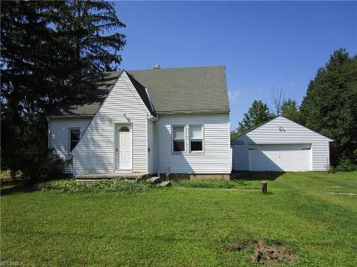 Geauga County Single Family Home For Sale: 13252 Woodin Rd