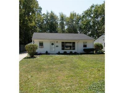 Berea OH Single Family Home Sold: $107,500