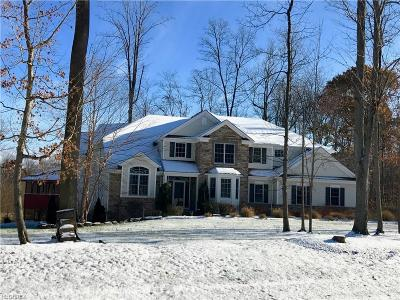 Geauga County Single Family Home For Sale: 9750 Cumberland Trl