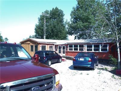 Ashtabula County Single Family Home For Sale: 1609 Stanhope Kelloggsville Rd