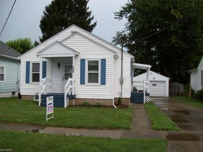 Zanesville Single Family Home For Sale: 909 Echo Ave