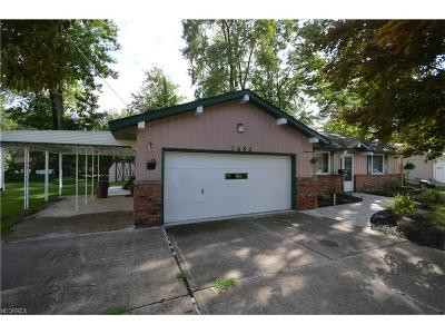 Mentor-On-The-Lake Single Family Home For Sale: 7682 Miami Rd