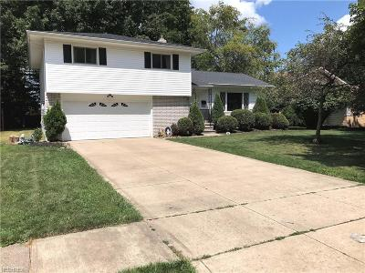 Middleburg Heights Single Family Home For Sale: 14150 Cherokee Trl