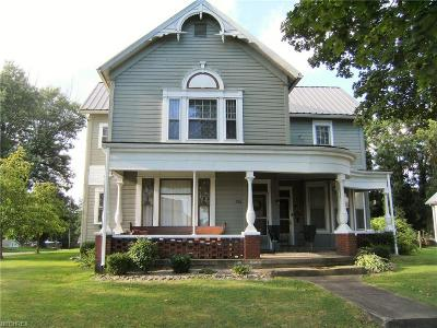 Guernsey County Single Family Home For Sale: 210 High Ave
