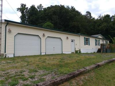 Guernsey County Single Family Home For Sale: 4745 Claysville Rd