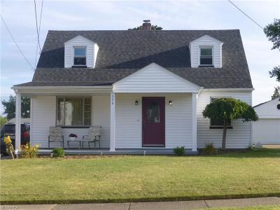 Struthers Single Family Home For Sale: 352 West Wilson St
