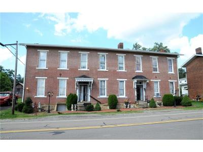 Guernsey County Multi Family Home For Sale: 139 Old National Rd