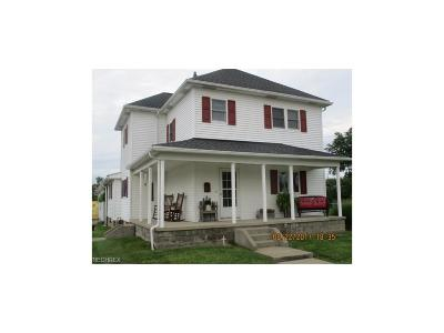 Guernsey County Single Family Home For Sale: 262 South 5th St