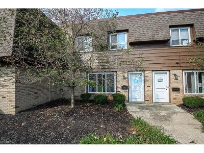 Mentor Condo/Townhouse For Sale: 6400 Center St #86