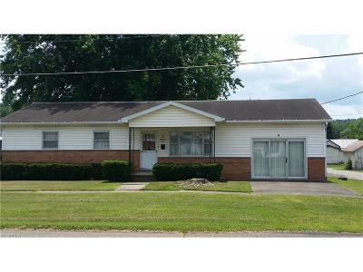 Guernsey County Single Family Home For Sale: 272 Broadway St