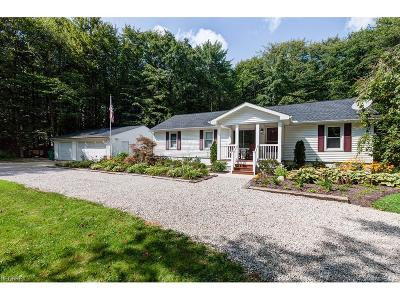Thompson Single Family Home For Sale: 17590 Rock Creek Rd