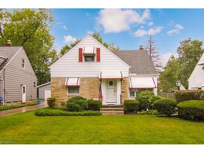 Lyndhurst Single Family Home For Sale: 1684 Brainard Rd