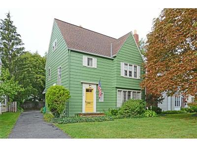 Shaker Heights Single Family Home For Sale: 3550 Townley Rd