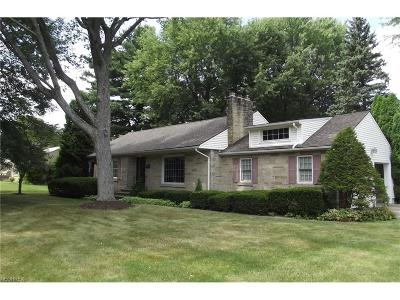 Alliance OH Single Family Home Sold: $145,000