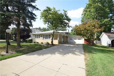 Youngstown Single Family Home For Sale: 4340 Nottingham Ave