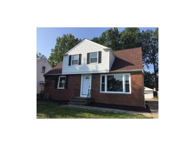 Wickliffe Single Family Home For Sale: 936 Bryn Mawr Ave