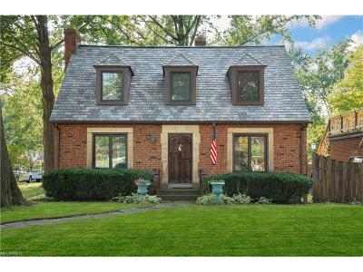 Rocky River Single Family Home For Sale: 814 Wagar Rd