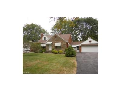 Parma Single Family Home For Sale: 7055 York Rd