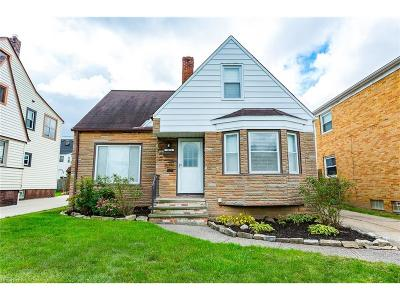 Parma Single Family Home For Sale: 3433 Marmore Ave