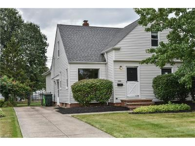 Mayfield Heights Single Family Home For Sale: 1341 Sunset Rd