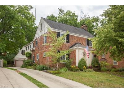 Rocky River Single Family Home For Sale: 20875 Morewood Parkway