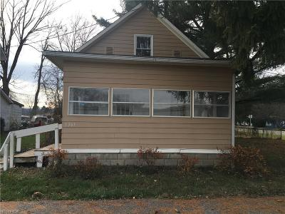Dresden Single Family Home For Sale: 1363 Chestnut St