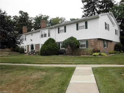 Brecksville Condo/Townhouse For Sale: 6985 Carriage Hill Dr #203