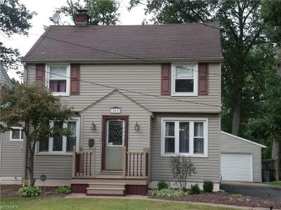 Niles OH Single Family Home For Sale: $104,500