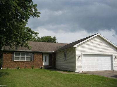 Nashport OH Single Family Home For Sale: $134,900