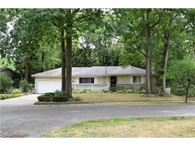 Girard Single Family Home For Sale: 1624 Squaw Ct