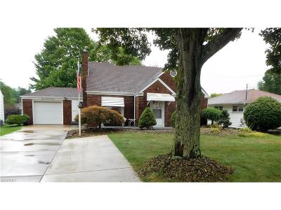 Hubbard Single Family Home For Sale: 255 Grandview Ave