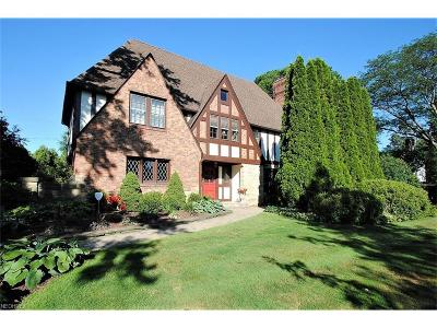 Shaker Heights Single Family Home For Sale: 2906 Eaton Rd