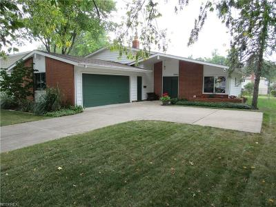 North Olmsted Single Family Home For Sale: 6450 Christman Dr
