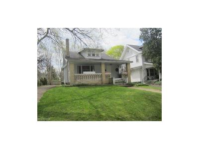 Cleveland Heights Single Family Home For Sale: 3106 Essex Rd