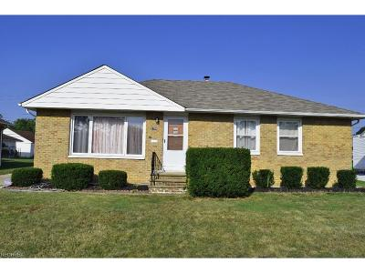 Mayfield Heights Single Family Home For Sale: 1730 Bellingham