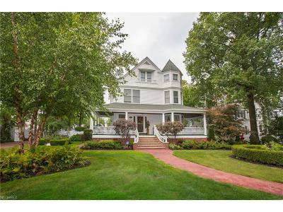 Rocky River Single Family Home For Sale: 2126 Wooster Rd