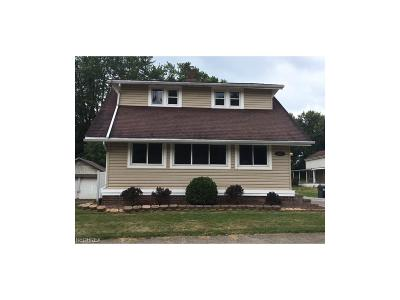 Alliance OH Single Family Home Sold: $58,000